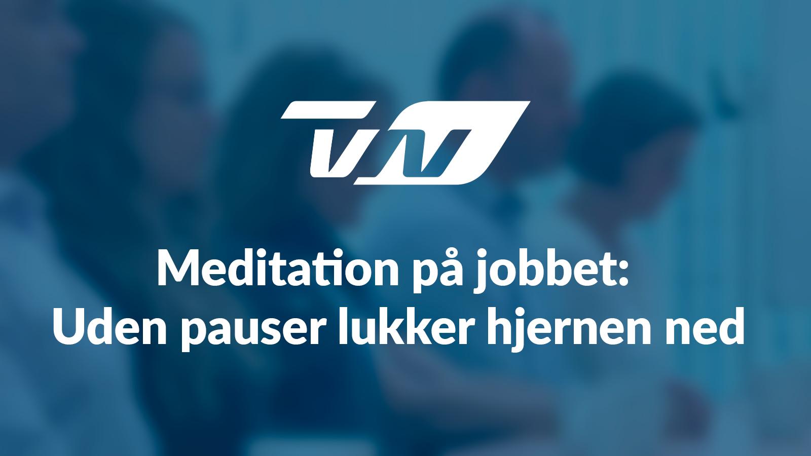 Link til artikel omkring zen mod stress i TV2 Nord